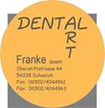 Logo Dental Art Franke